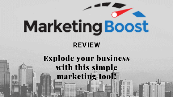 Marketing Boost Review 2019